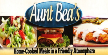 Menus Of Texas - Aunt Bea's Restaurant