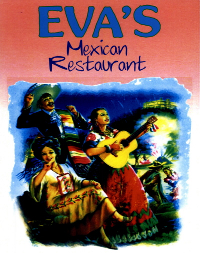 Menus Of Texas - Eva's Mexican Restaurant