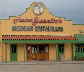 Menus Of Texas - Mama Juanitas Mexican Restaurant - Conroe
