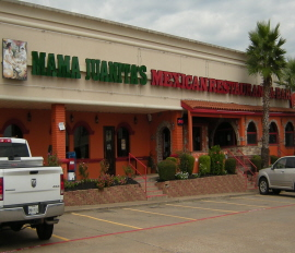 Menus Of Texas - Mama Juanitas Mexican Restaurant - Montgomery