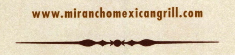 Menus Of Texas - Mi Rancho Mexican Grill & Bar - Domain Name