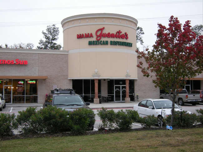 Menus Of Texas - Mama Juanita's Mexican Restaurant - The Woodlands - Slider